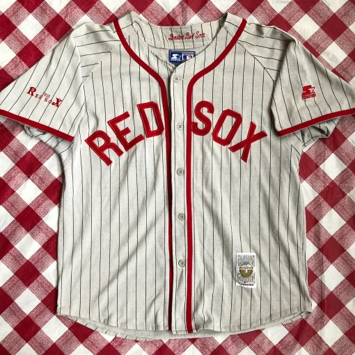 1918 Boston Red Sox Starter Cooperstown MLB Jersey Size Large