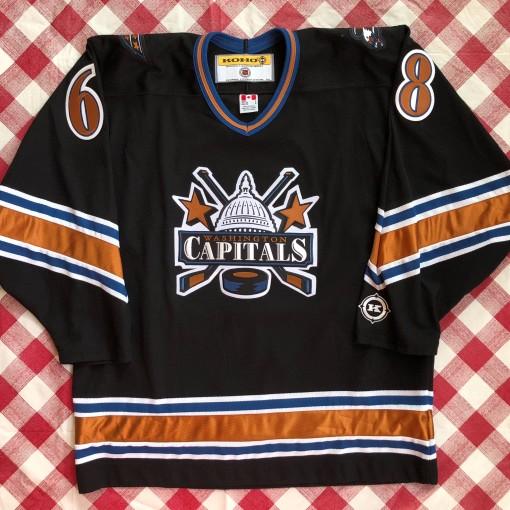 2001 Jaromir Jagr Washington Capitals Koho NHL Jersey Size Large