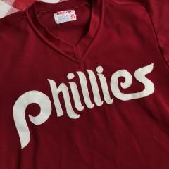80's Philadelphia Phillies Wilson Authentic MLB BP Jersey Size 38