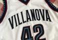 1997 Jason Lawson Villanova Wildcats Authentic Nike NCAA Jersey Size 48