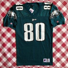 1996 Irving Fryar Philadelphia Eagles Champion NFL Jersey Size 40