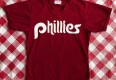 80's Philadelphia Phillies Wilson Authentic MLB BP Jersey Size 38