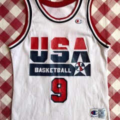 1992 Michael Jordan Team USA Dream Team Champion Jersey Size 40