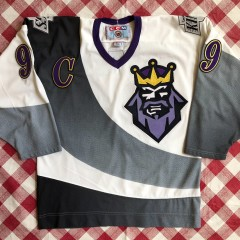 1996 Wayne Gretzky Los Angeles Kings Burger King CCM NHL Jersey Size Medium