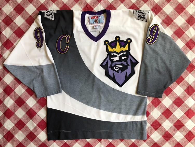 pretty nice 0a488 ffea9 1996 Wayne Gretzky Los Angeles Kings Burger King CCM NHL Jersey Size Medium