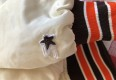 90's Cleveland Browns Starter White Satin NFL Jacket Size Medium