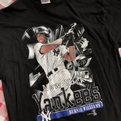 1999 New York Yankees Bernie Williams MLB T-shirt Size XL