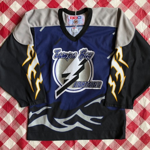 90's Tampa Bay Lightning Alterante CCM NHL Jersey
