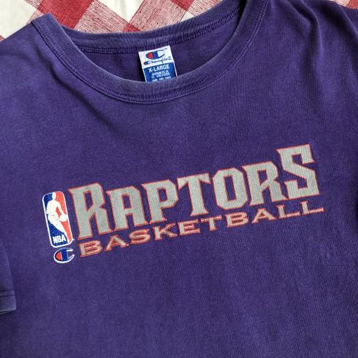 sale retailer f181a ace21 1996 Toronto Raptors Champion NBA Authentic Practice T-Shirt Size XL