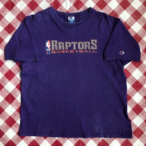 1996 Toronto Raptors Champion NBA Authentic Practice T-Shirt Size XL