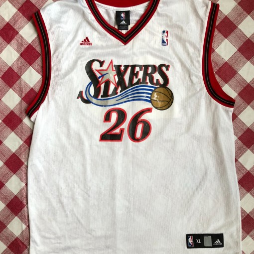 2005 Kyle Korver Philadelphia Sixers 76ers Adidas NBA Jersey Size XL