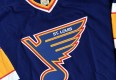 80's St. Louis Blues CCM Blue NHL Jersey Size XL