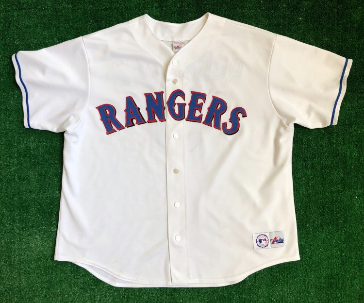 sale retailer 9ae4f fef1d 2001 Alex Rodriguez Texas Rangers Majestic MLB Jersey Size XXL