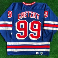 1997 Wayne Gretzky New York Rangers Starter NHL Jersey Size XL
