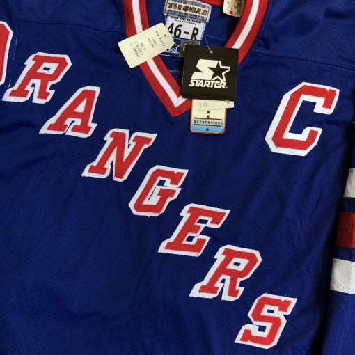 1997 Wayne Gretzky New York Rangers Authentic Starter NHL Jersey Size 46