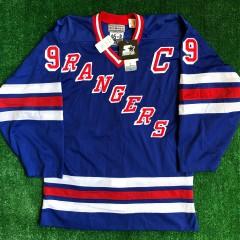 1997 Wayne Gretzky New York Rangers Authentic Starter NHL Jersey Size 46