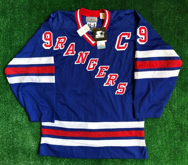 best cheap 2f86e 5d9d9 1997 Wayne Gretzky New York Rangers Authentic Starter NHL Jersey Size 46