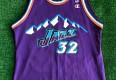1998 Karl Malone Utah Jazz Champion NBA Jersey Size 40