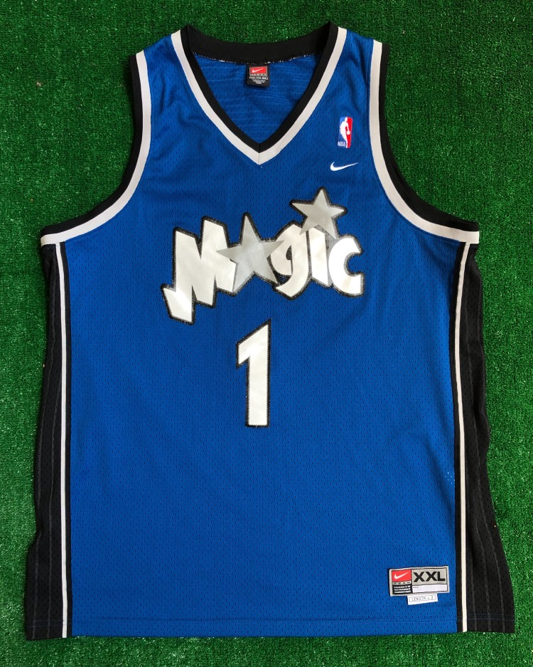 hot sale online 06001 683ac 2001 Tracy McGrady Orlando Magic Nike Swingman NBA Jersey Size XXL