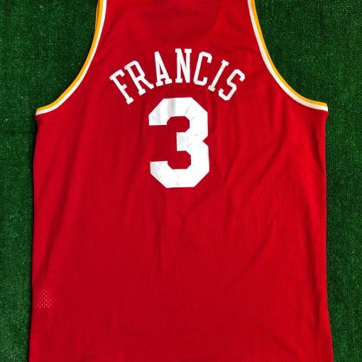 2002 Steve Francis Houston Rockets Nike HWC Swingman NBA Jersey Size XXL