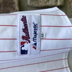 2009 Ryan Howard Philadelphia Phillies Authentic World Series MLB Jersey Size 48