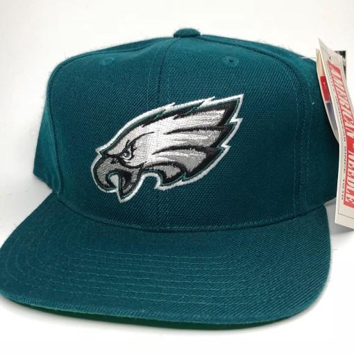 1996 Philadelphia Eagles Plain Logo ANNCO NFL Snapback Hat