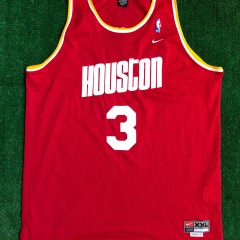 2002 Steve Francis Houston Rockets Nike HWC Swingman NBA Jersey Size XXL
