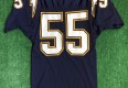 90's Junior Seau San Diego Chargers Russell Authentic NFL Jersey  Size 40
