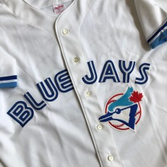 vintage 1993 Joe Carter Toronto Blue Jays authentic rawlings MLB jersey size 48