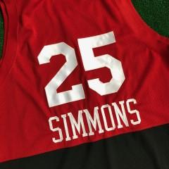 1966 Ben Simmons Philadelphia 76ers sixers rewind swingman NBA jersey size XL