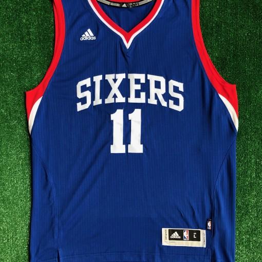 2014 Joel Embiid Philadelphia Sixers 76ers Adidas Rookie swingman jersey size small medium large