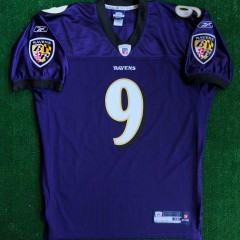 2006 steve mcnair baltimore ravens authentic reebok nfl jersey size 48
