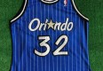 vintage 90s Shaq Shaquille O'neal orlando magic champion authentic nba jersey size 44 large