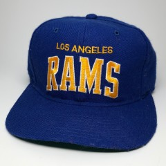 90's los angeles rams starter arch nfl snapback hat