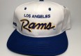 vintage 90's los angeles rams sports specialties  script nfl snapback hat
