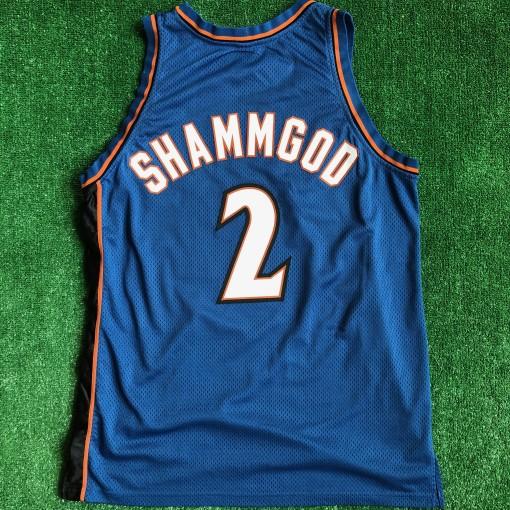 1998 God Shammgod Washington wizards authentic nba jersey size 48