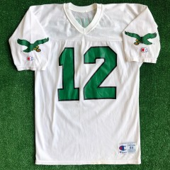 90's Randall Cunningham Philadelphia Eagles Champion NFL Jersey Size 44