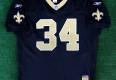 vintage new orleans saints authentic ricky williams reebok helmet tag nfl jersey size  52