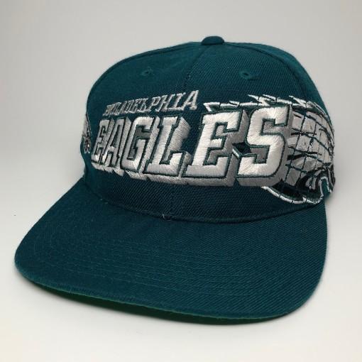 vintage 90's philadelphia eagles sports specialties nfl snapback hat