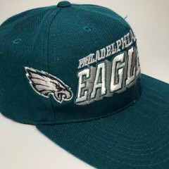 vintage 90's philadelphia eagles sports specialties nfl snapback hat