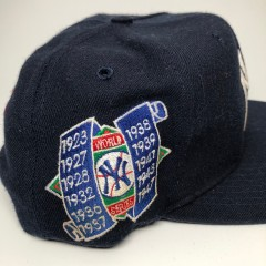 vintage 90's New York Yankees World Series Champions american needle snapback hat