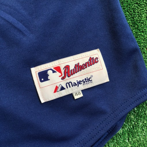vintage 2003 Roy Halladay Authentic Toronto Blue jays jersey size 48 majestic