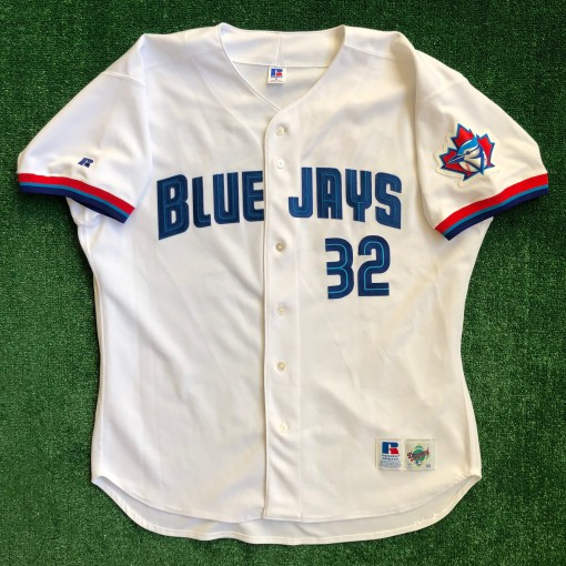 vintage 1999 Roy Halladay Authentic Toronto Blue jays jersey size 52 russell diamond collection