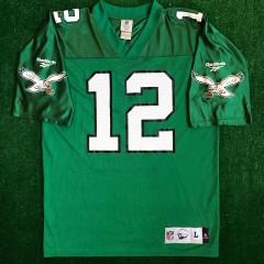 90's Randall Cunningham Philadelphia Eagles Reebok Retro NFL Jersey Size Large
