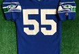 vintage 80's brian bosworth seattle seahawks champion nfl jersey size small