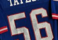 vintage 1980's lawrence taylor new york giants authentic sandknit nfl jersey size 44 large