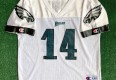 vintage 1999 Doug Pederson Philadelphia eagles nfl football jersey size youth XL Champion