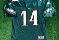 vintage 1999 Doug Pederson Philadelphia eagles nfl football jersey size Large starter