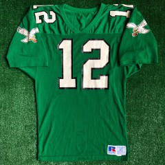 1990 Randall Cunningham Philadelphia Eagles Authentic Russell NFL Jersey Size 42