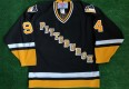 1994 Pittsburgh Penguins GIN AND JUICE Snoop Dogg CCM NHL Jersey Size Large